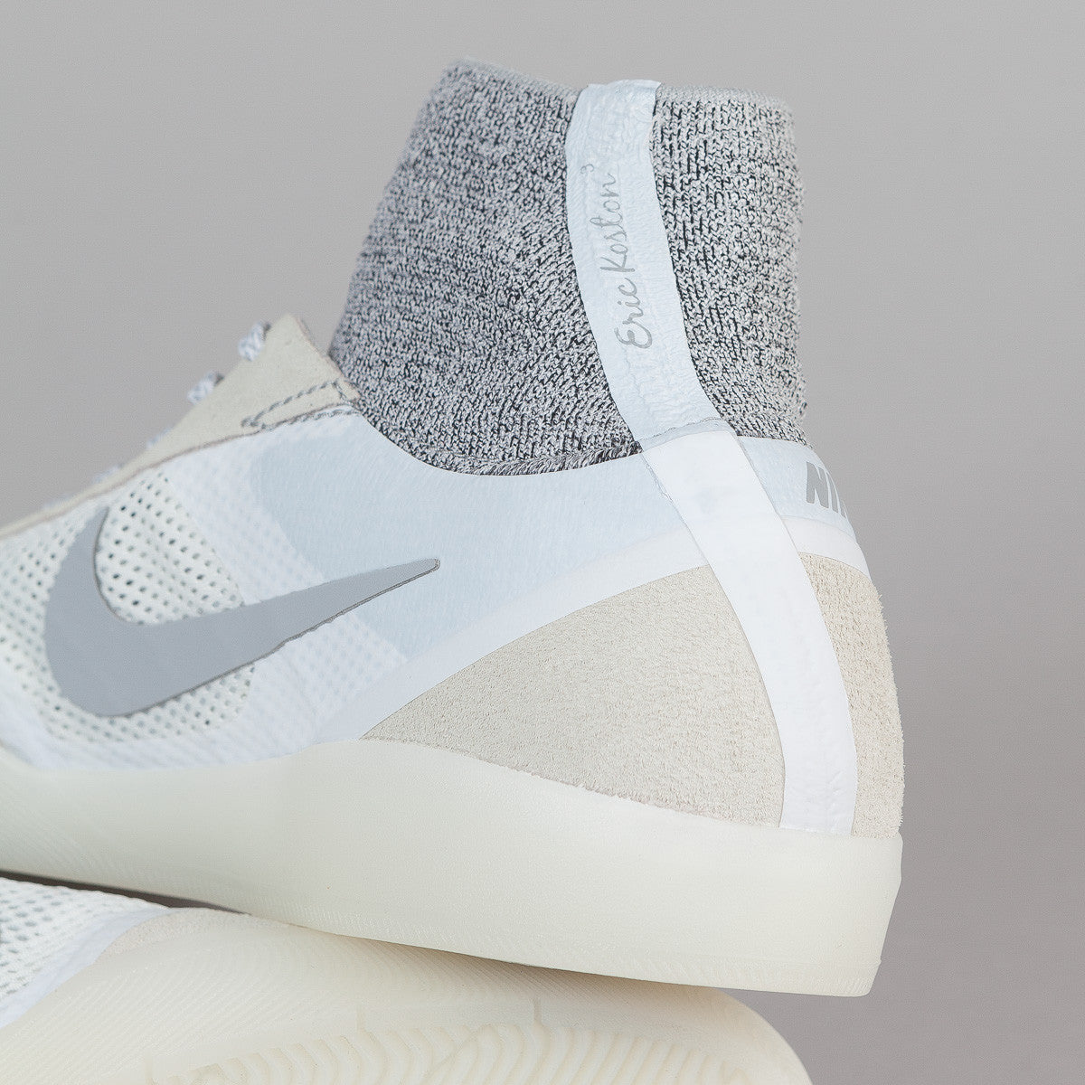 Nike SB Koston 3 Hyperfeel Shoes - Summit White/Wolf Grey - White