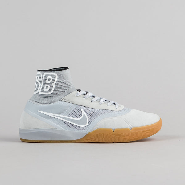 Nike SB Hyperfeel Koston 3 Shoes - Wolf Grey / Wolf Grey - White - Black