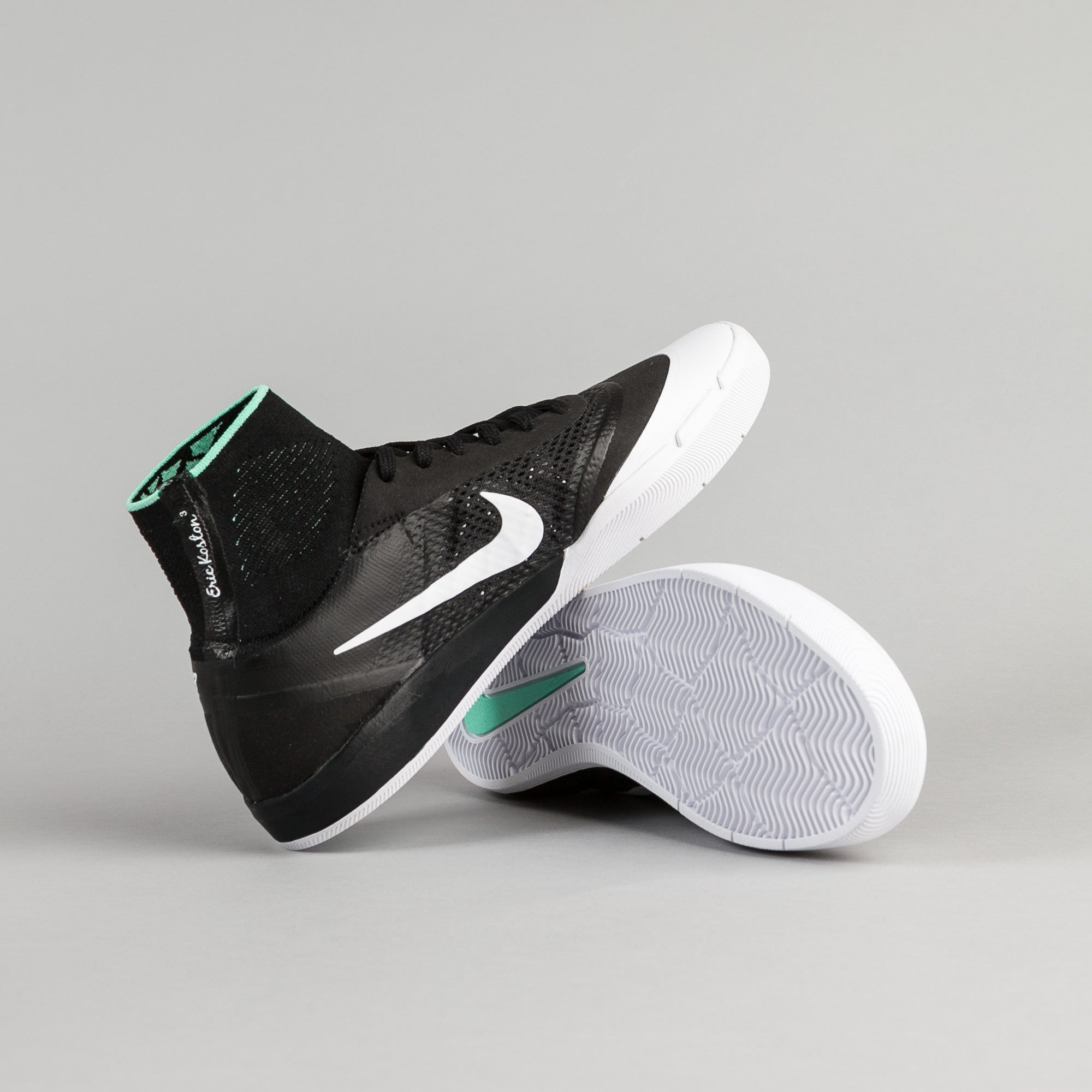 Nike SB Koston 3 Hyperfeel XT Shoes - Black / White