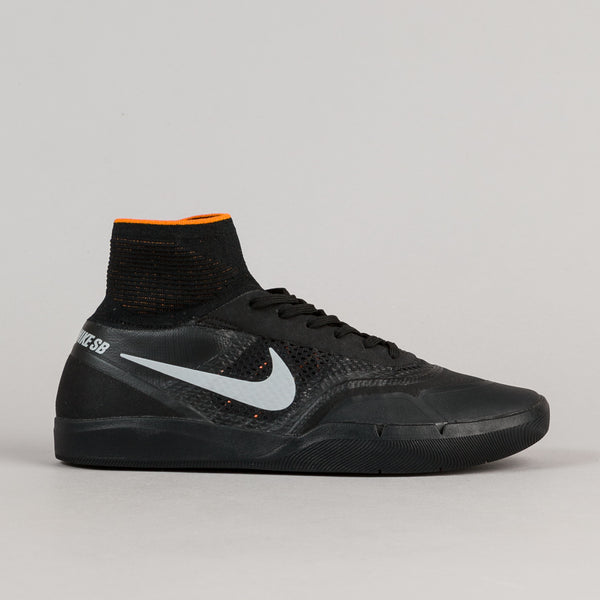Nike SB Hyperfeel Koston 3 XT Shoes - Silver / Black - Clay Orange