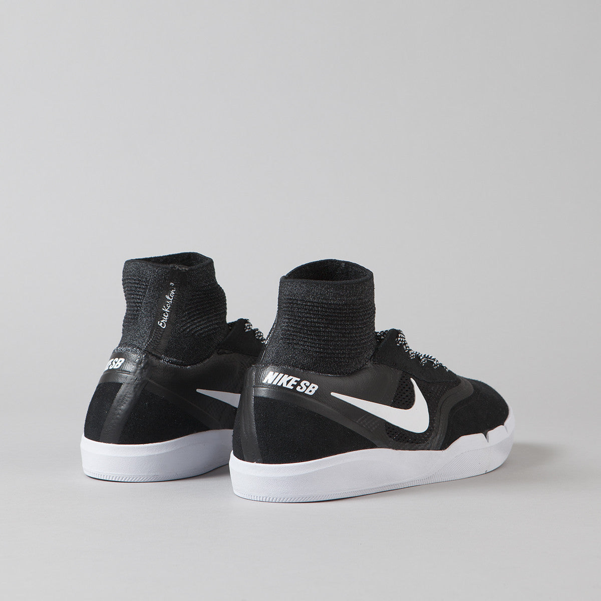 Nike SB Koston 3 Hyperfeel Shoes - Black / White