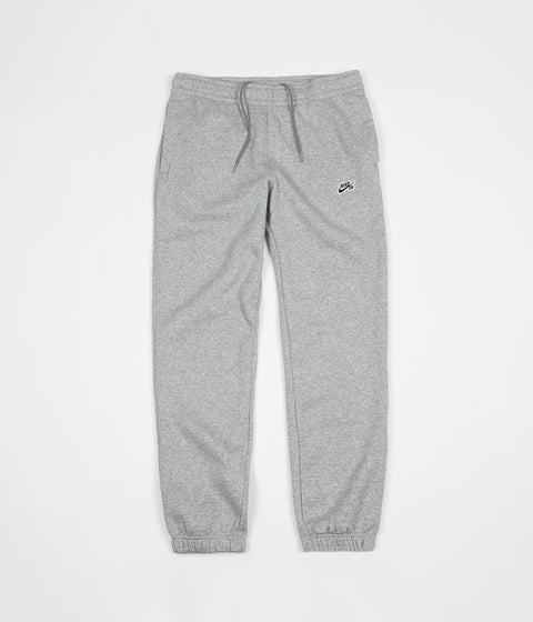 Nike SB Icon Essential Fleece Sweatpants - Dark Grey Heather / Black