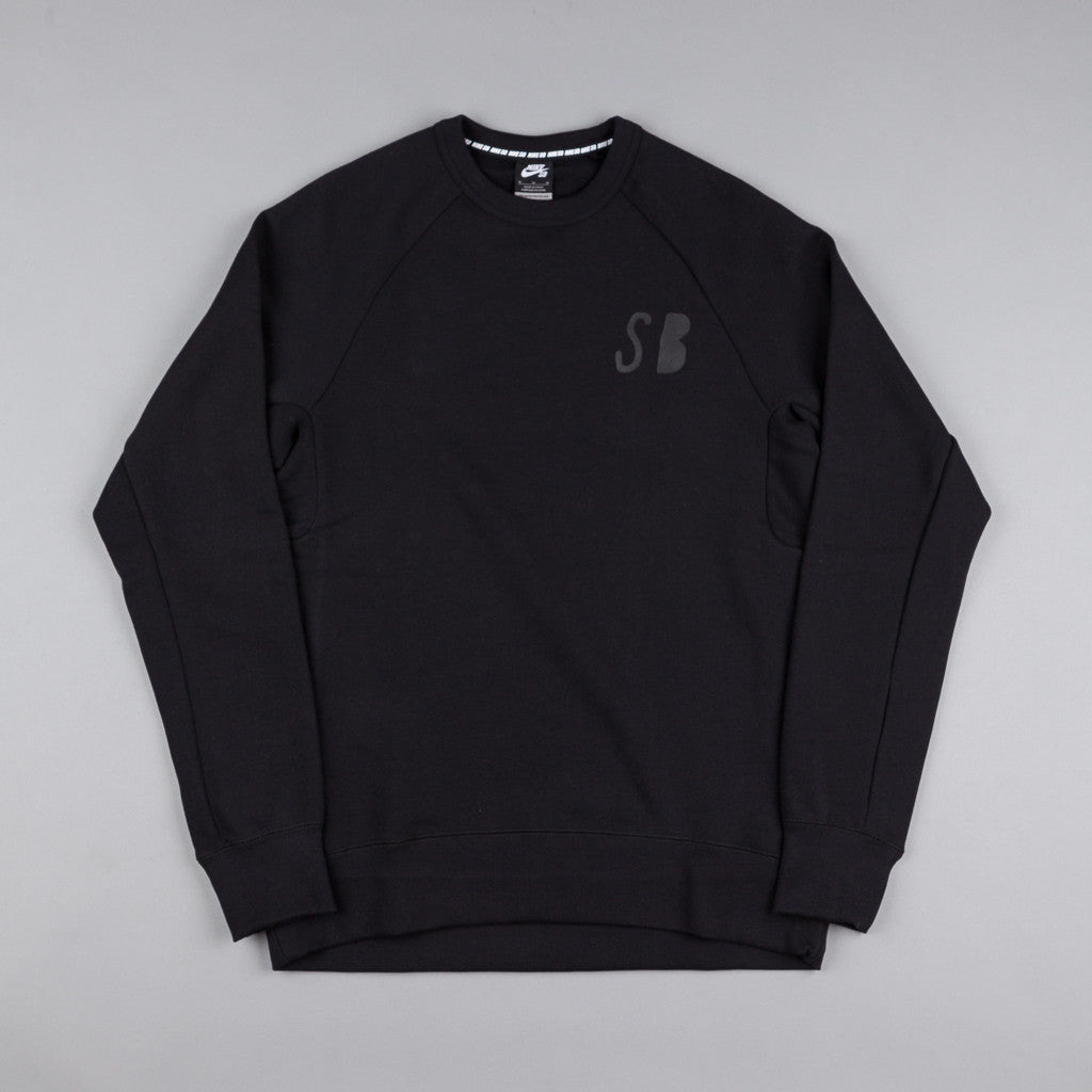 Nike SB Icon Graphic Fleece Crewneck Sweatshirt