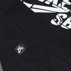 Nike SB Icon Grip Tape Hooded Sweatshirt - Black