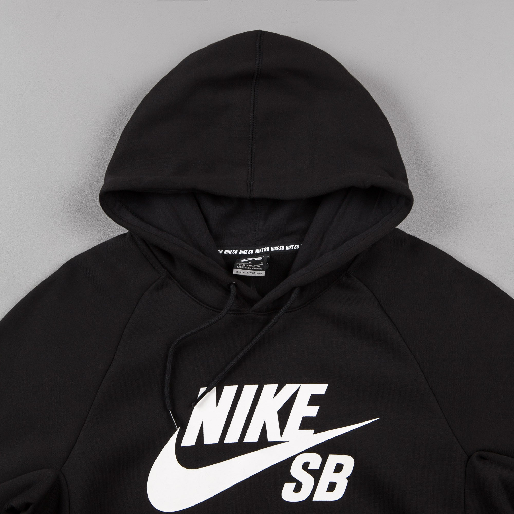 Nike SB Icon Hooded Sweatshirt - Black
