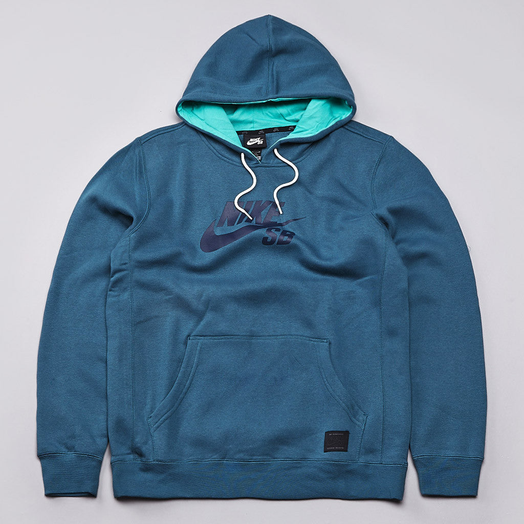 Nike SB Icon Hooded Sweatshirt Night Factor / Obsidian