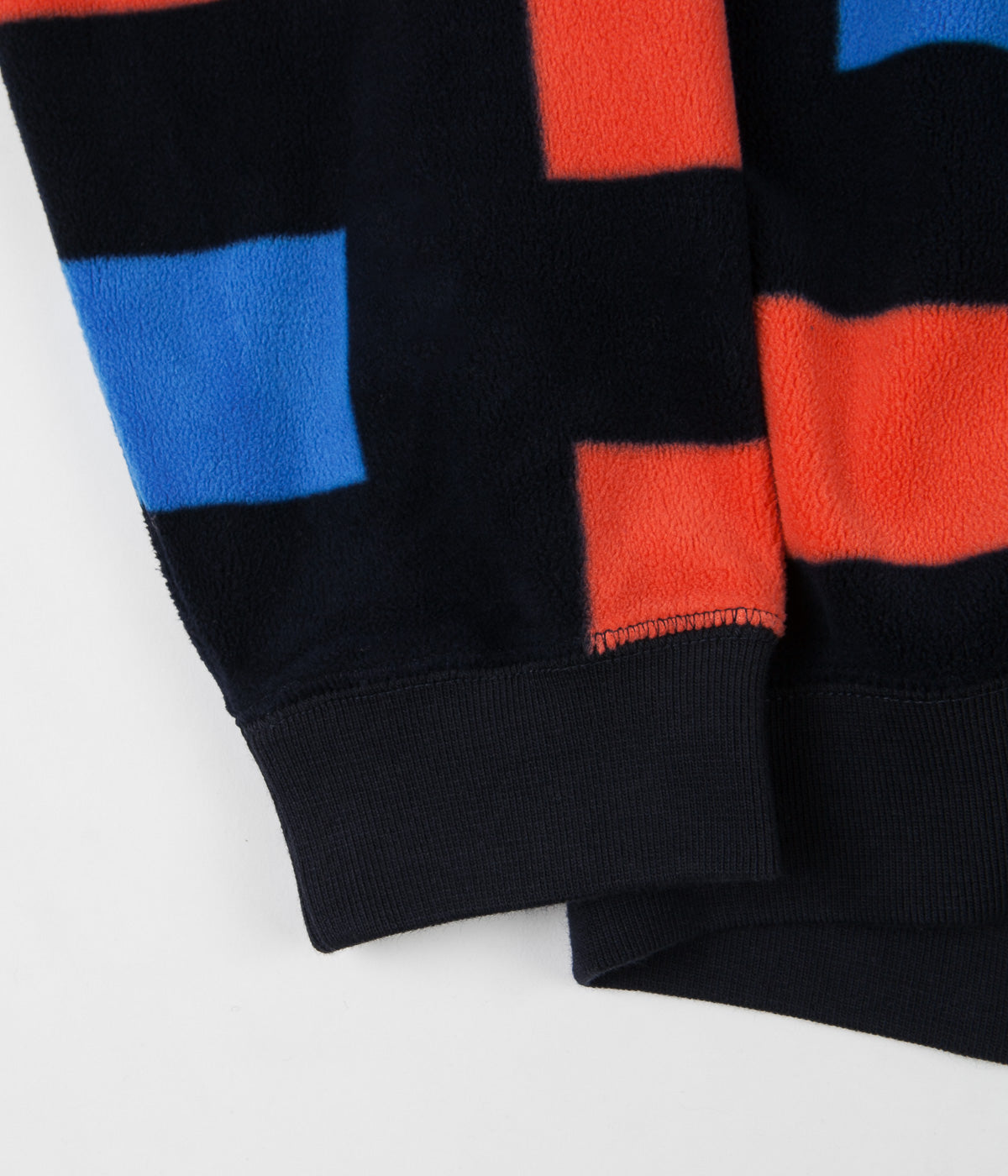 Nike SB Icon Nomad Crewneck Sweatshirt - Dark Obsidian / Bright Crimson