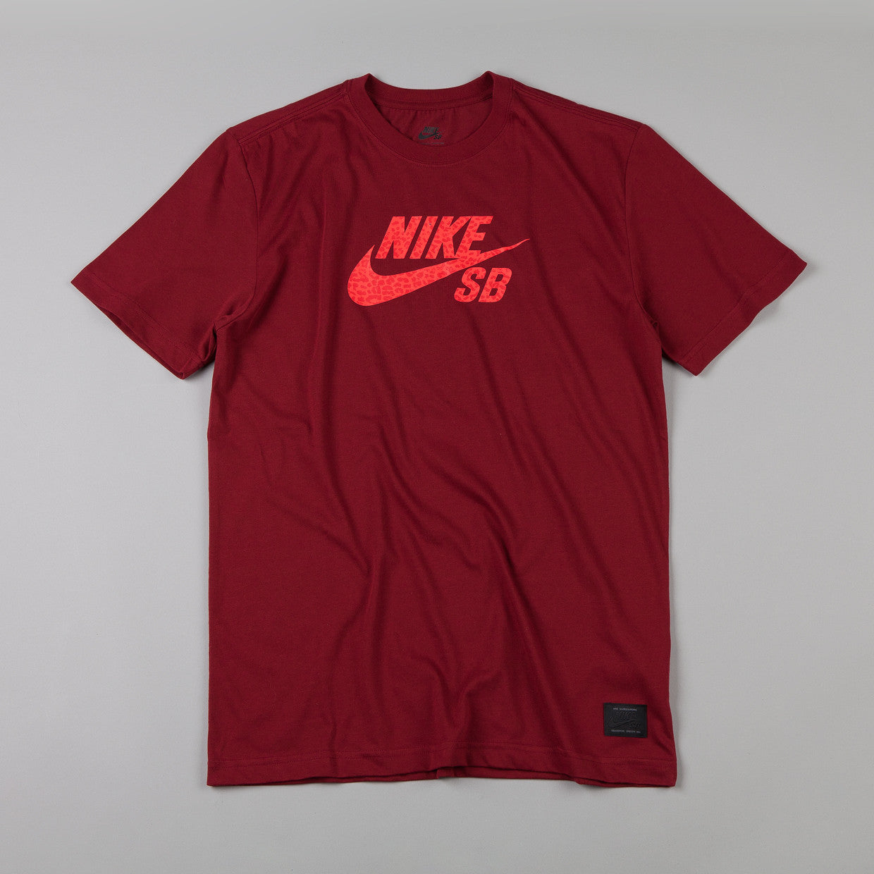 Nike Sb Icon Dri-fit Leopard t-shirt Team Red / Team Red