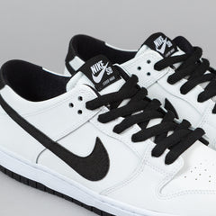 Nike SB Ishod Wair Dunk Low Pro Shoes - White / Black - White