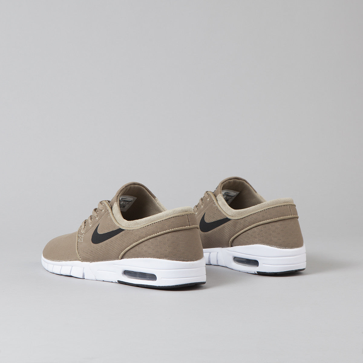 Nike SB Stefan Janoski Max Shoes Khaki / Black - White