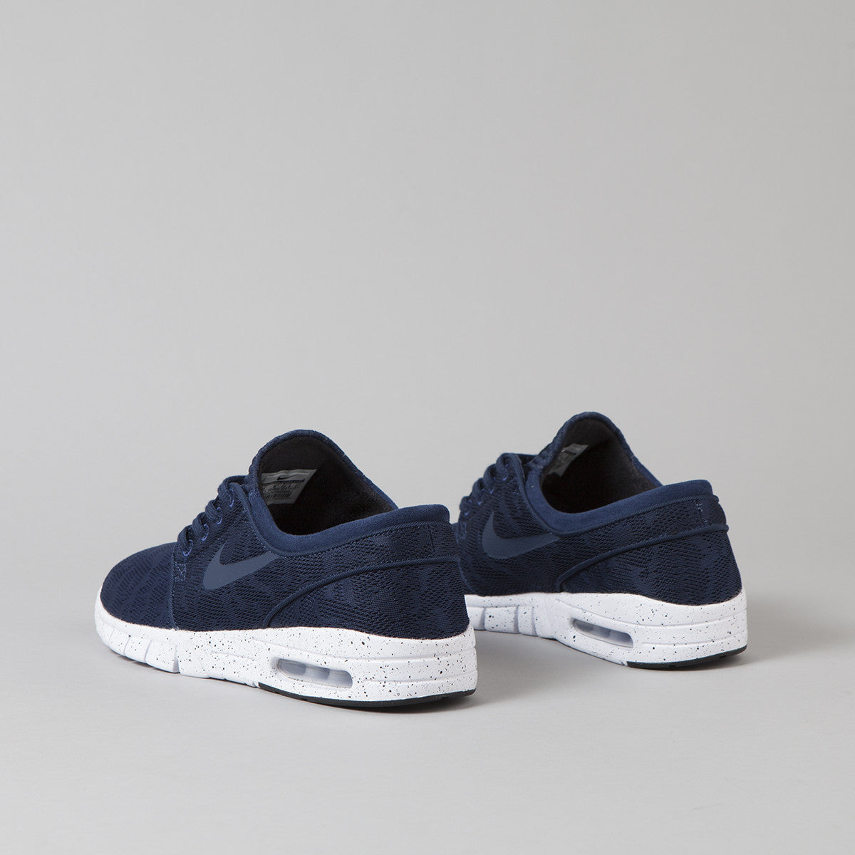 Nike SB Stefan Janoski Max Shoes Midnight Navy / Mid Navy - White