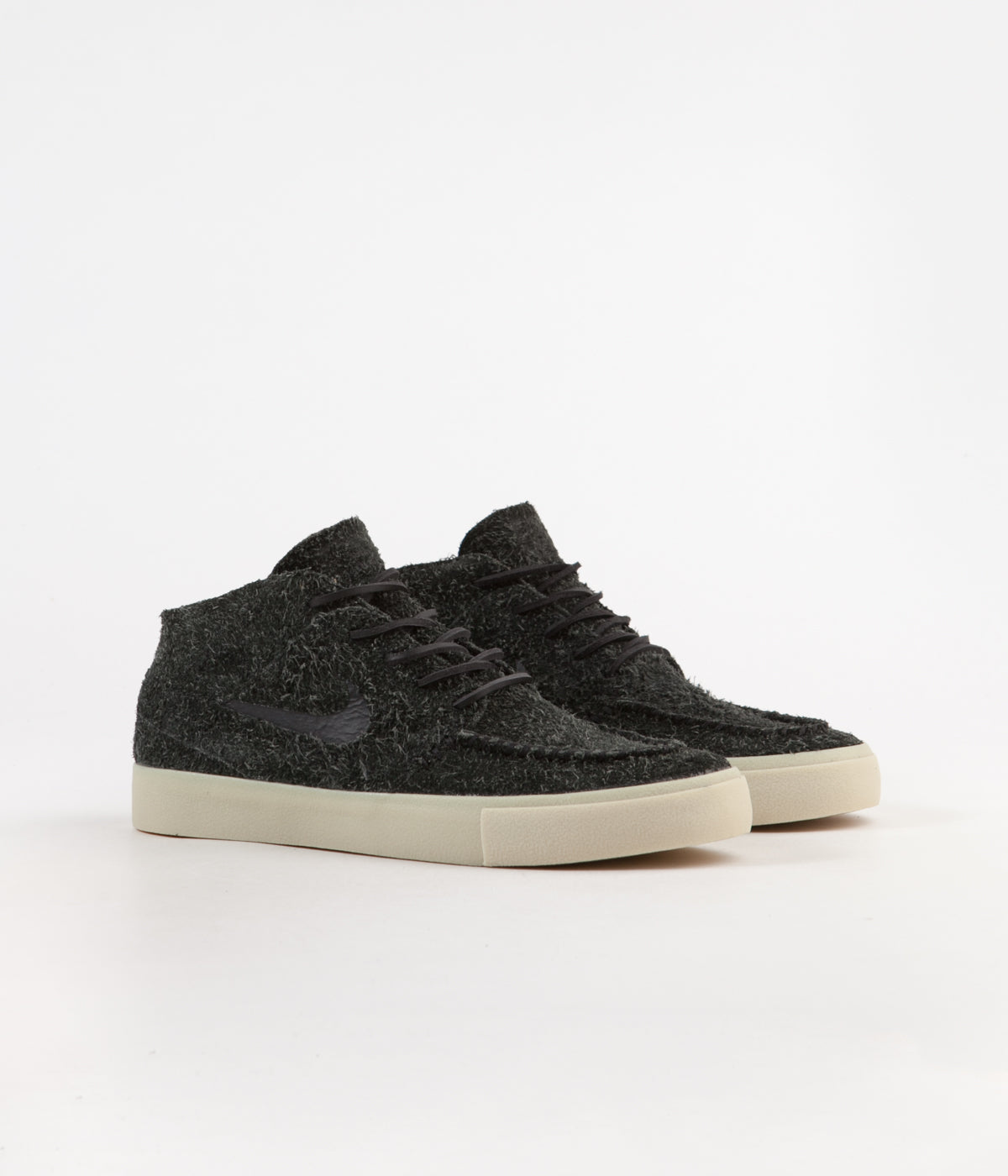 1b82b4e6d1854 ... Nike SB Janoski Mid Crafted Shoes - Black   Black - Golden Beige - Team  Gold ...
