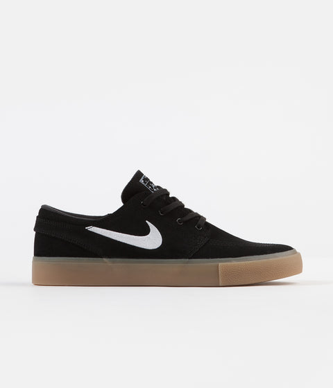 the best attitude fbeeb 3099d Nike SB Janoski Remastered Shoes - Black   White - Black - Gum Light Brown