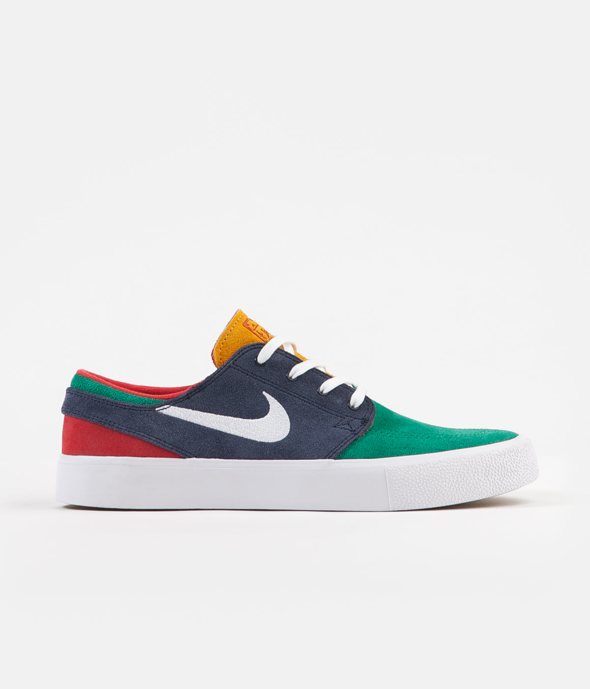 66a7ea334 Nike SB Janoski Remastered Shoes - Lucid Green / White - Obsidian ...