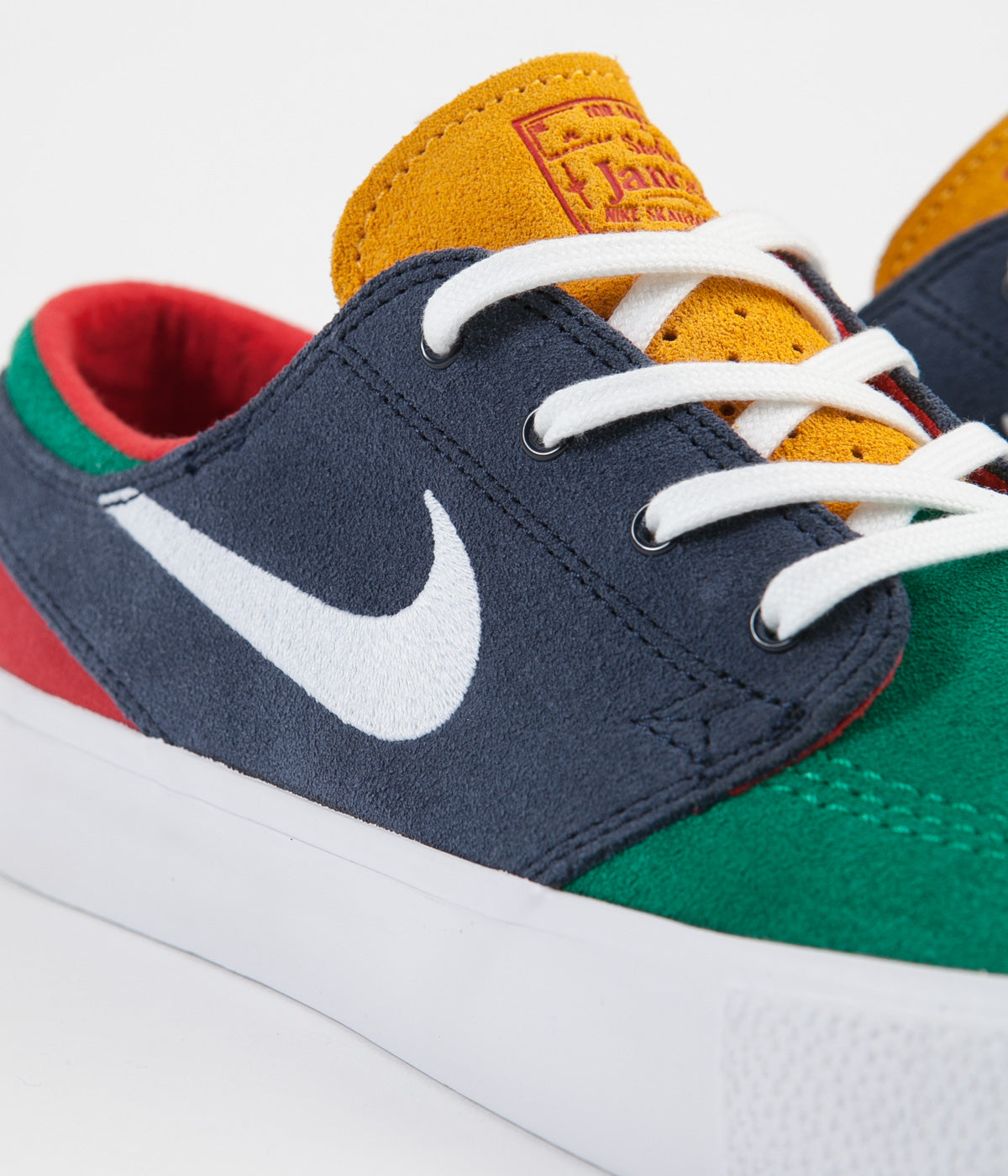 1ccca433b ... Nike SB Janoski Remastered Shoes - Lucid Green / White - Obsidian ...