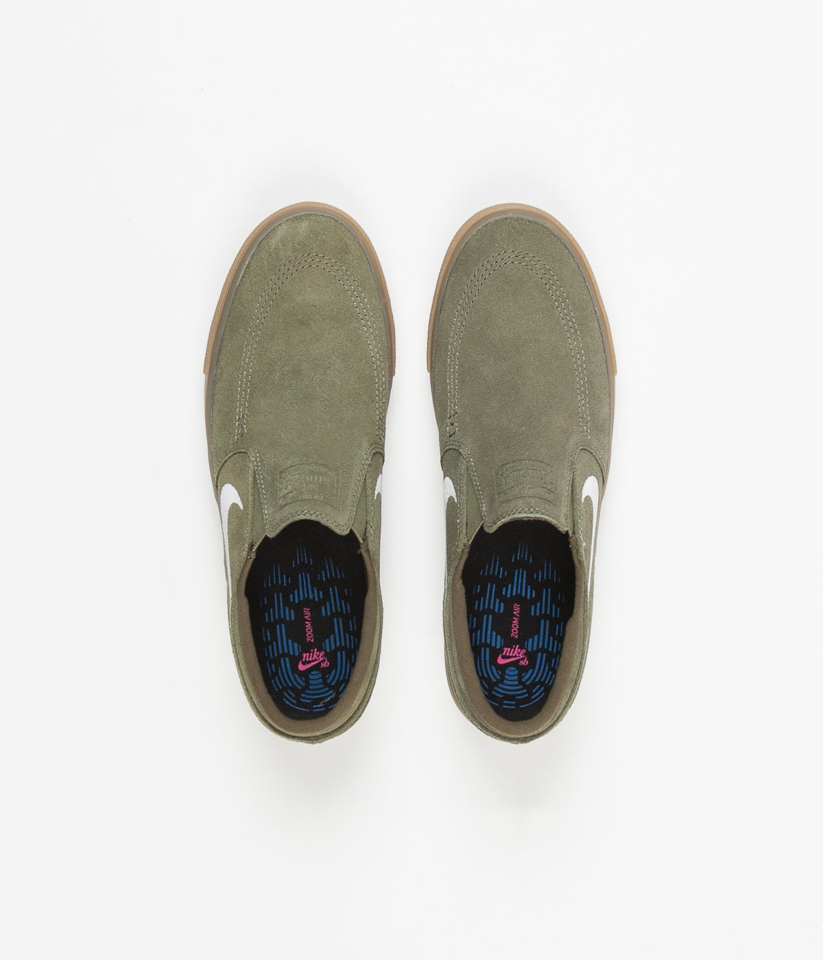 premium selection c5405 1d0a6 Nike SB Janoski Slip On Remastered Shoes - Medium Olive ...