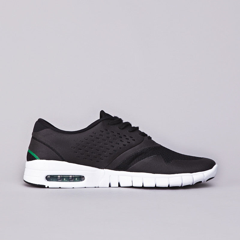 Nike SB Eric Koston 2 Max Black / Black - Varsity Maize - Pine Green