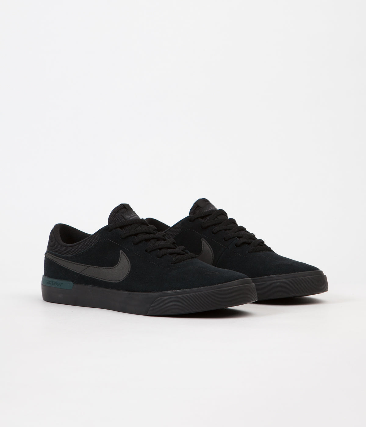 ... Nike SB Koston Hypervulc Shoes - Black   Metallic Black - Dark Atomic  Teal ... c8ff2d997