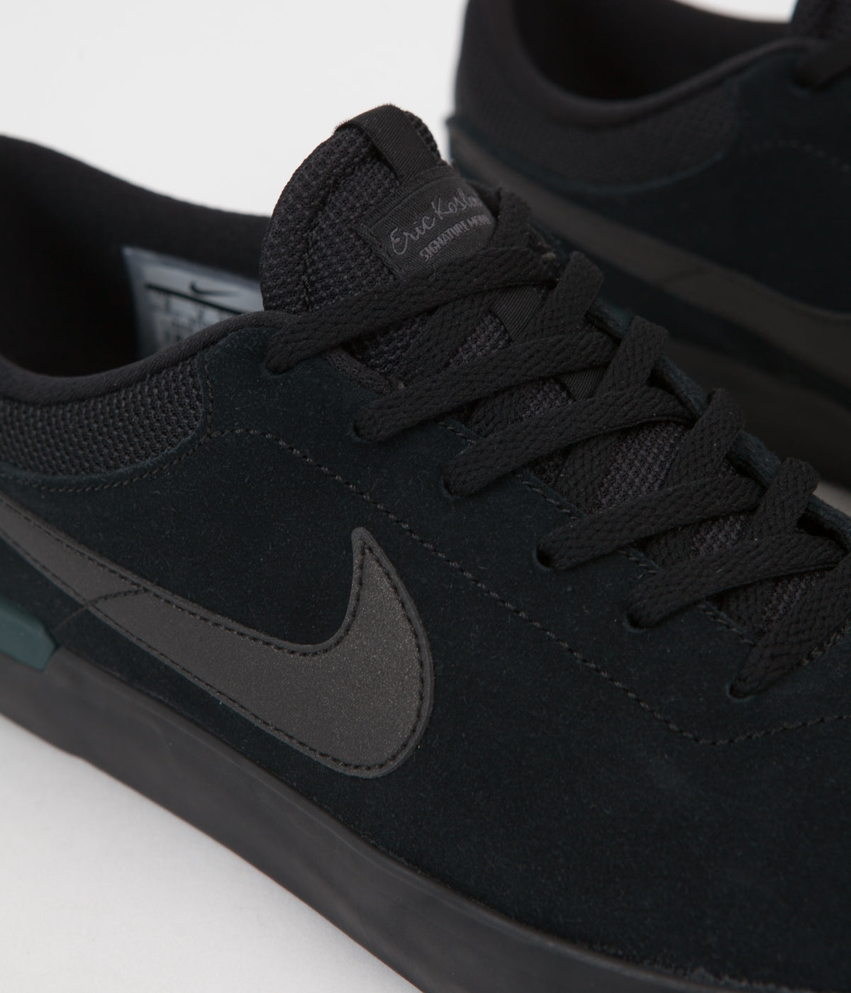 the best attitude fd20e 9503e ... nike sb koston hypervulc shoes black metallic black dark atomic teal