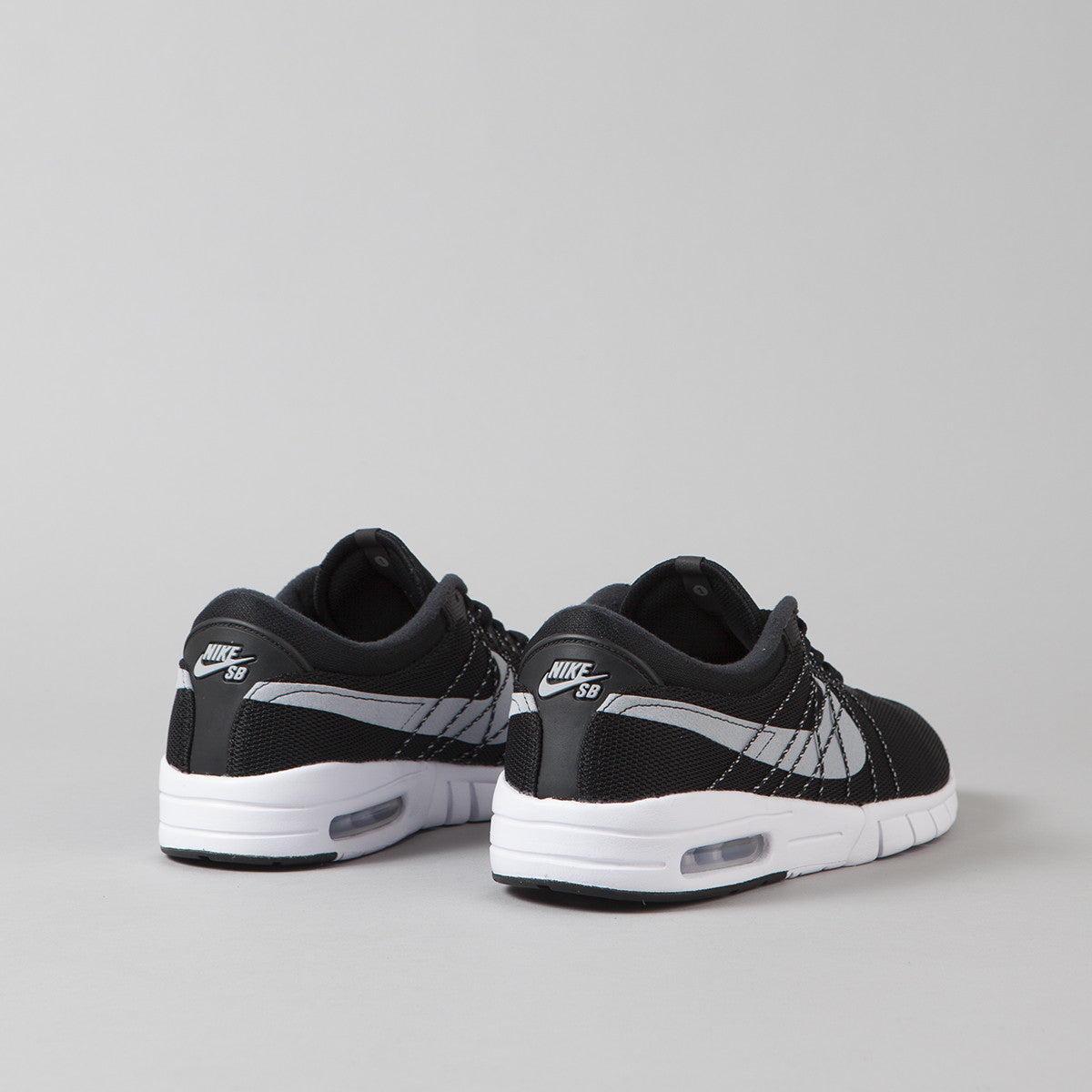 Nike SB Koston Max Shoes - Black / Wolf Grey - White