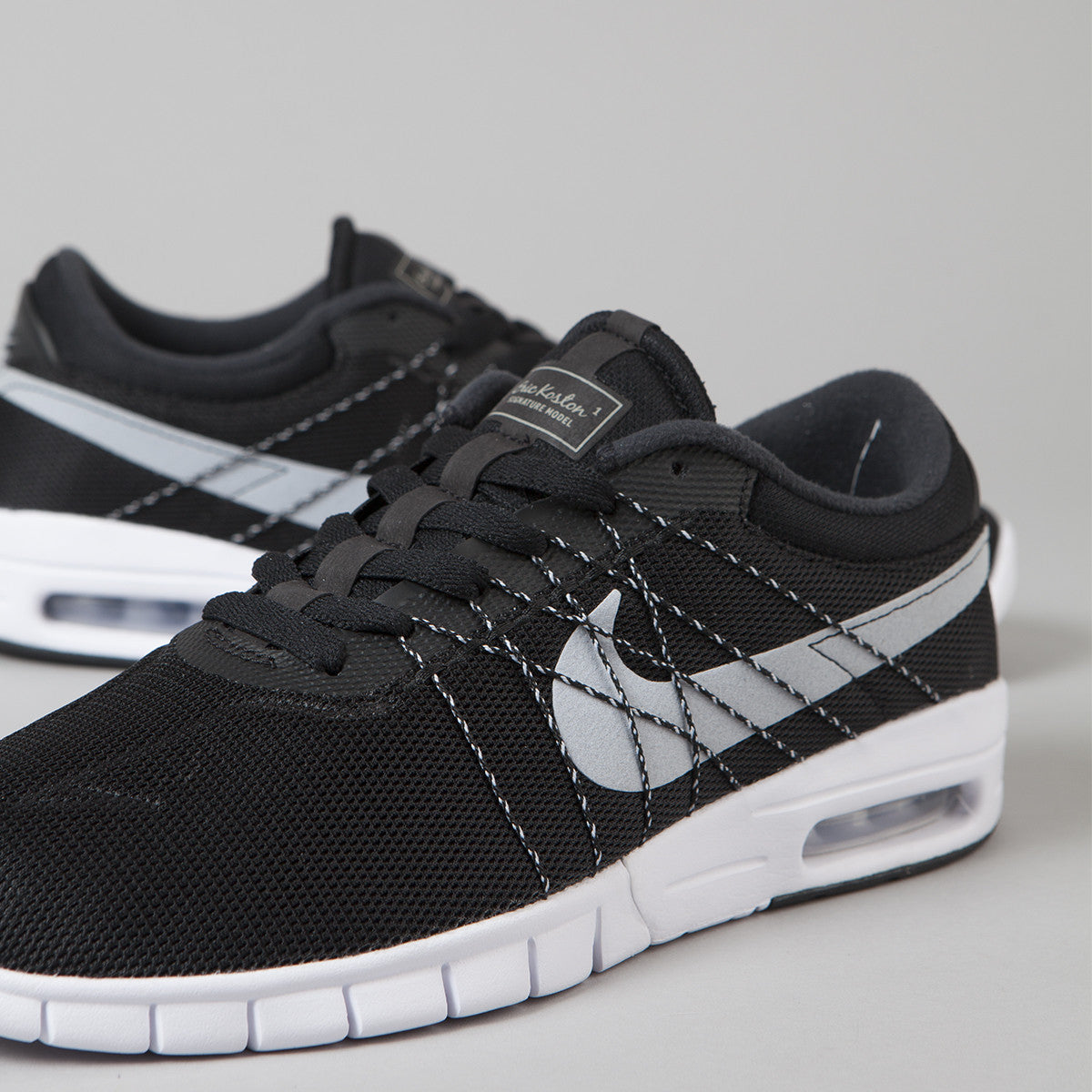 nike sb koston max shoes black wolf grey white. Black Bedroom Furniture Sets. Home Design Ideas