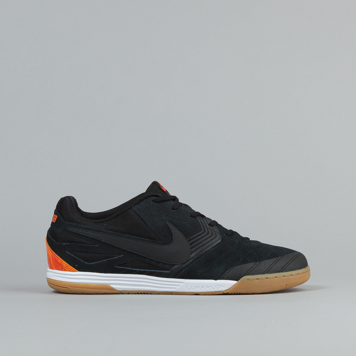 Nike SB Lunar Gato WC Black / Safety Orange