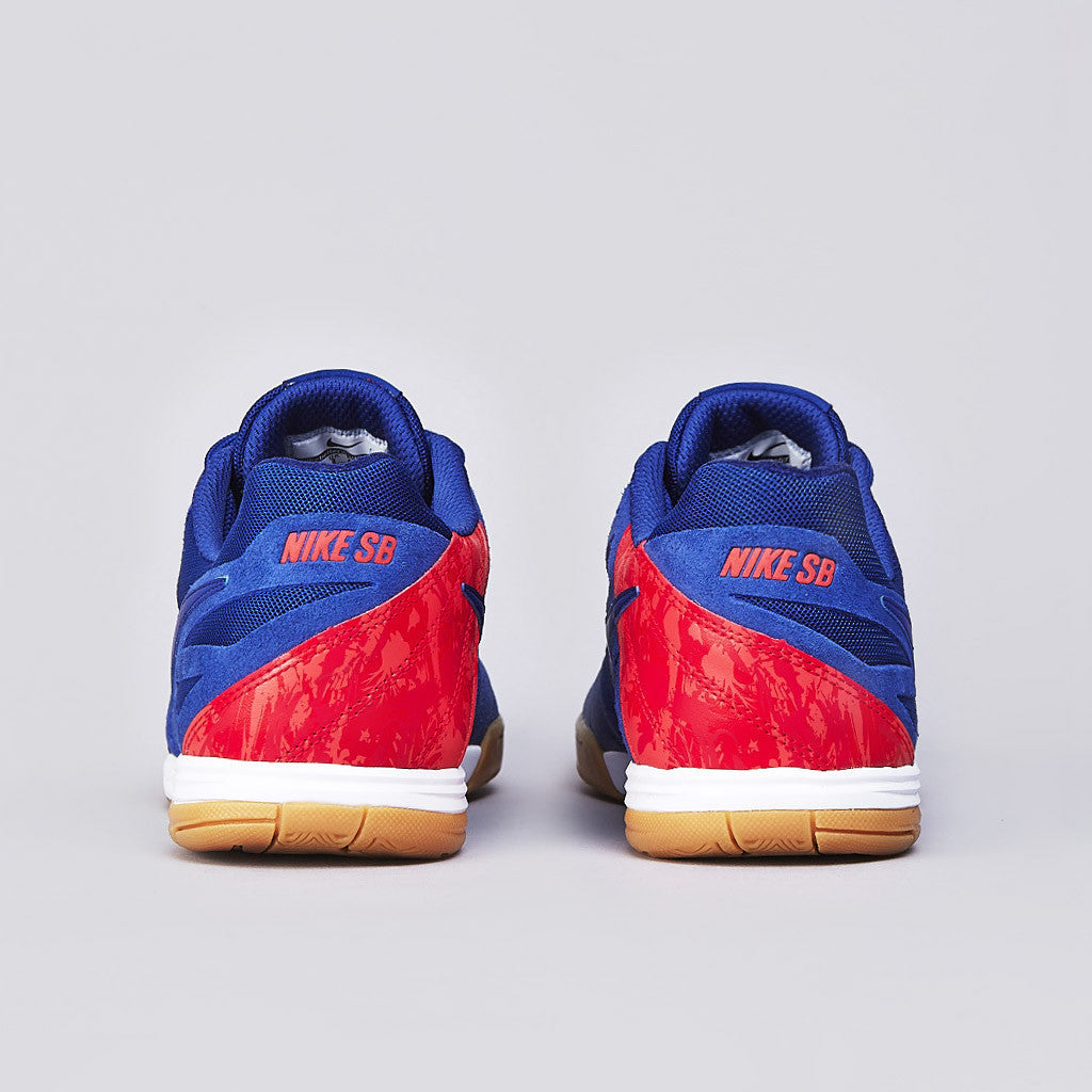 Nike SB Lunar Gato WC Deep Royal Blue / Light Crimson - White
