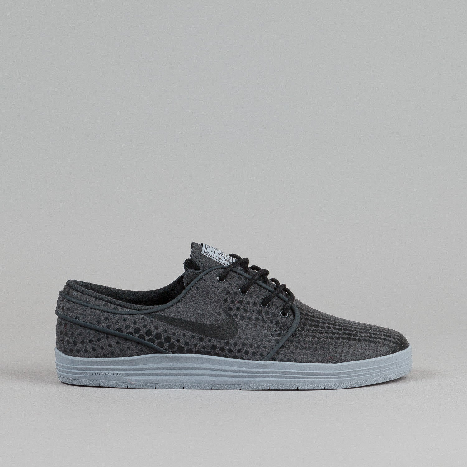 Nike SB Lunar Stefan Janoski Shoes Anthracite / Black