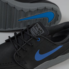 Nike SB Lunar Stefan Janoski Shoes - Black / Game Royal / Cool Grey