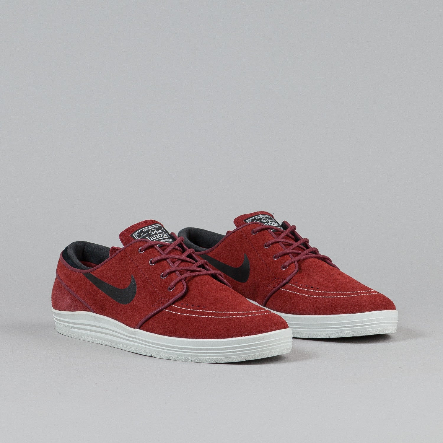 Nike SB Lunar Stefan Janoski Team Red/Black - Summit White