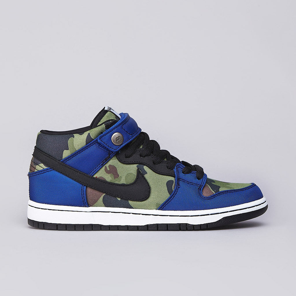 Nike SB Dunk Mid Pro Premium Old Royal / Black