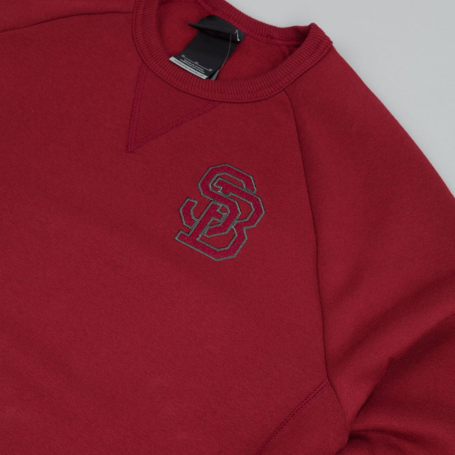 Nike SB Northrup Crew Neck Fleece Sweatshirt Team Red / Team Red