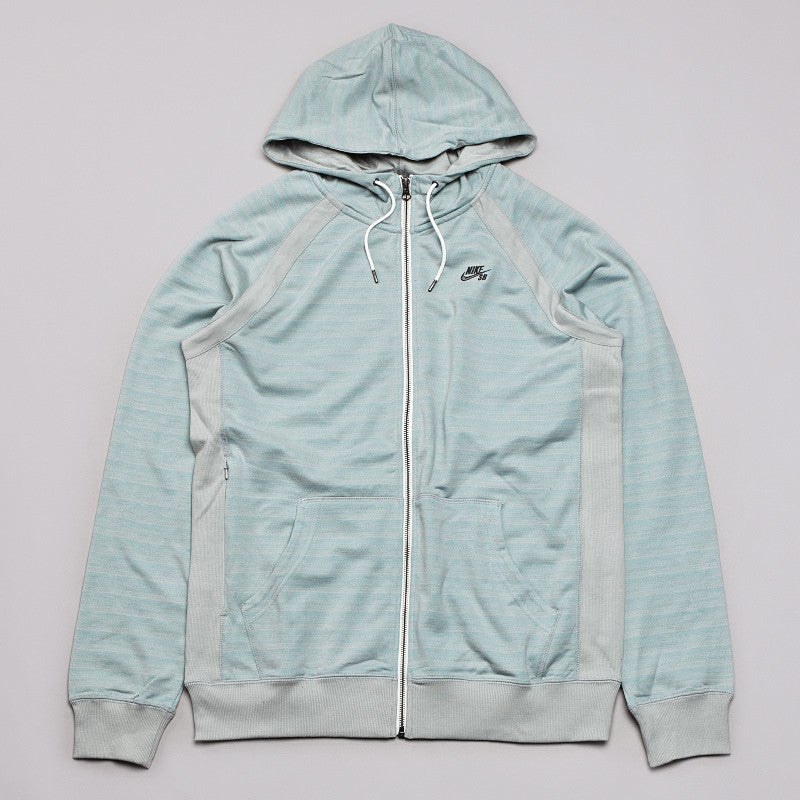 Nike SB Northrup Icon Zipped Hooded Sweatshirt Base Grey / Dark Base Grey