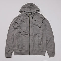 Nike SB Northrup Icon Zipped Hooded Sweatshirt Medium Base Grey / Black
