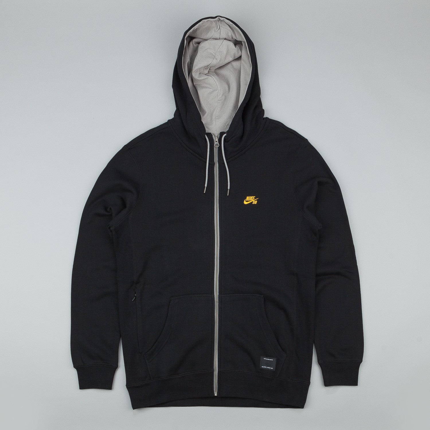 Nike SB Northrup Icon Zipped Hooded Sweatshirt Black / University Gold