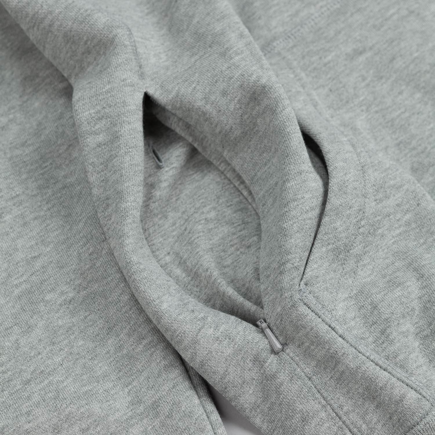 Nike SB Northrup Icon Zipped Hooded Sweatshirt Dark Grey / Ivory