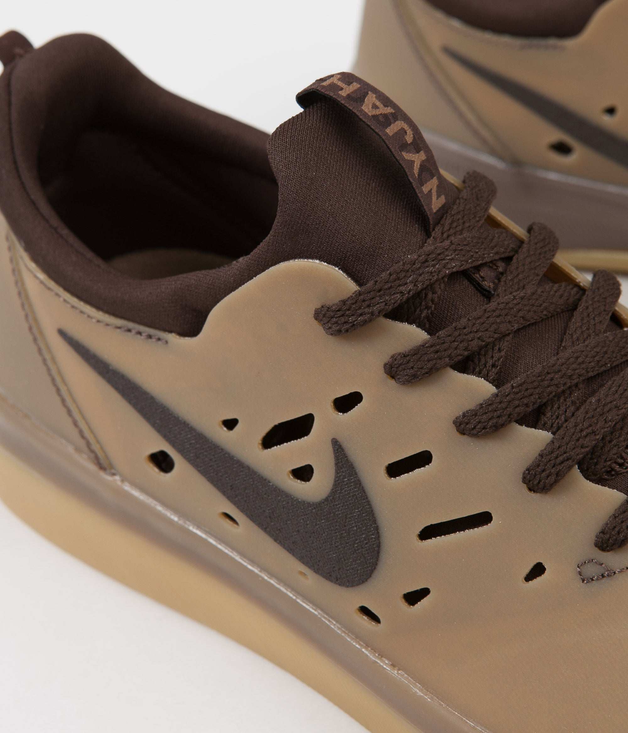 Nike SB Nyjah Free Shoes - Gum Dark Brown / Baroque Brown