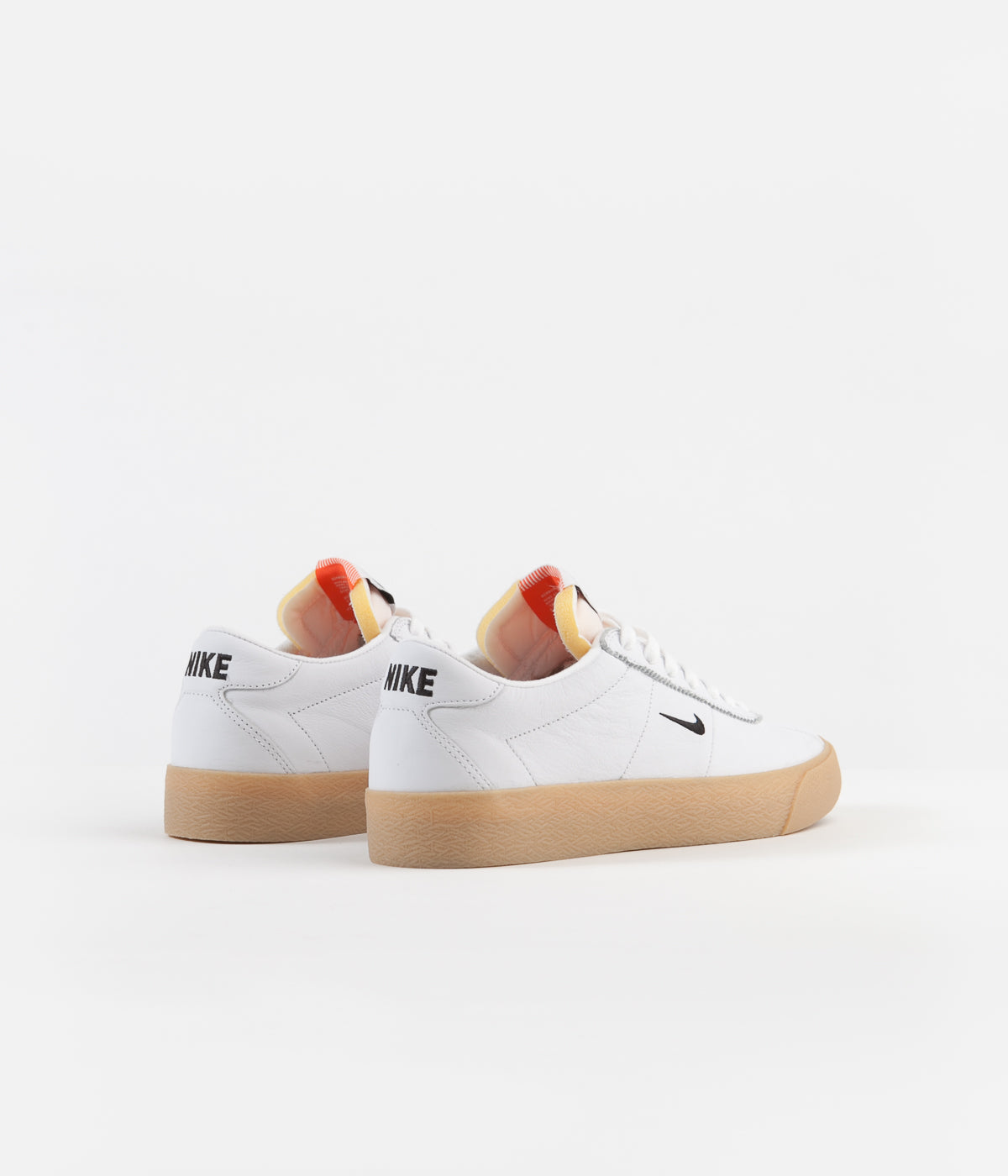 first rate 5d3ea abcc4 ... Nike SB Orange Label Bruin Shoes - White   Black - Safety Orange ...