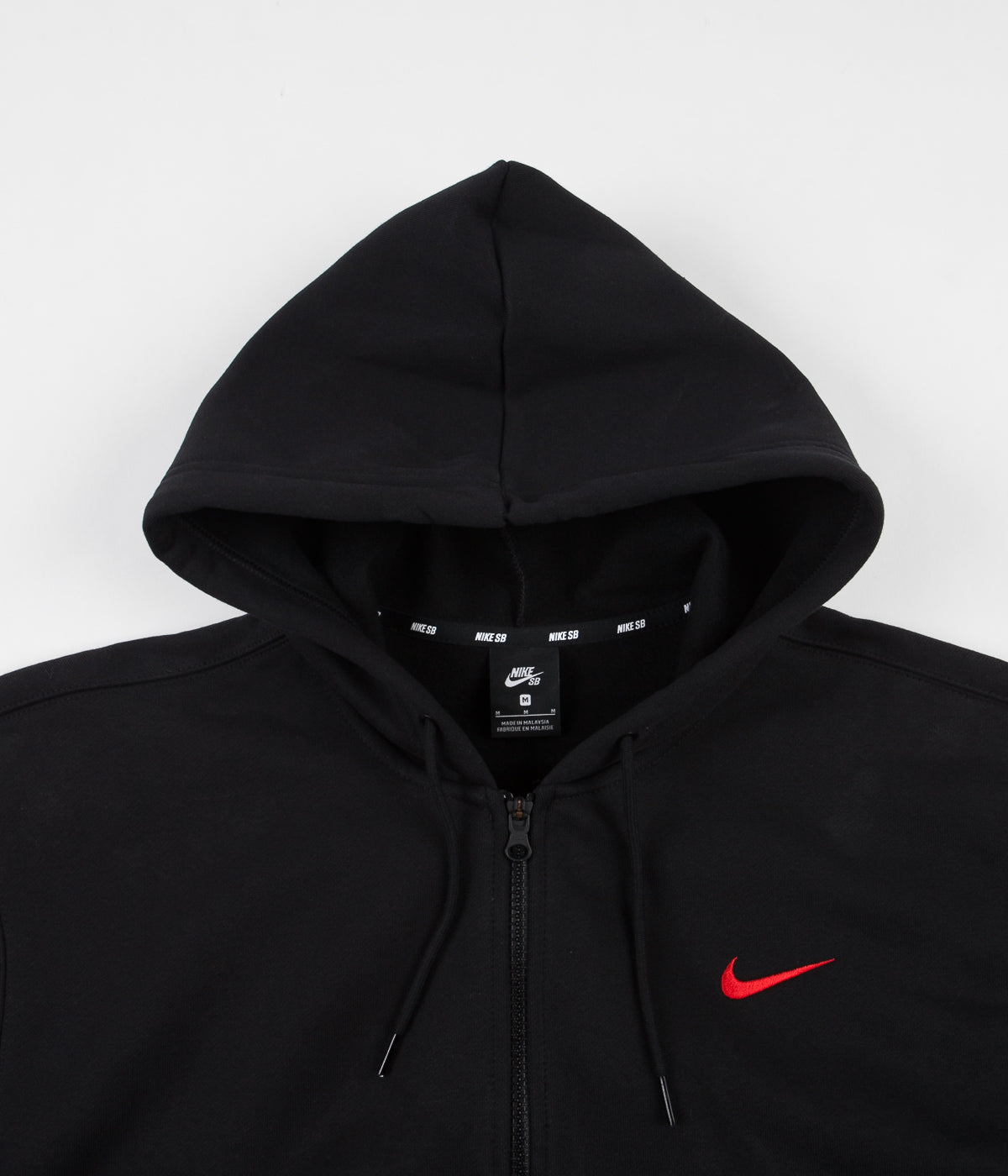 Nike SB Orange Label 'Oski' Hoodie - Black / University Red