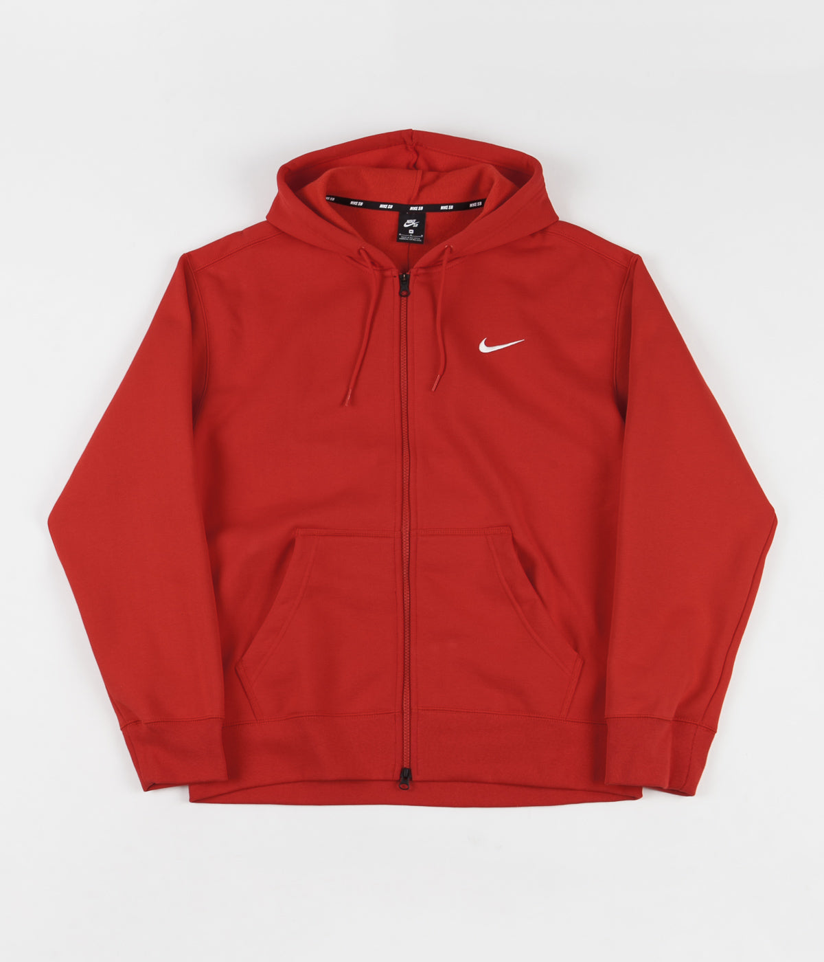 Nike SB Orange Label 'Oski' Hoodie - University Red / Sail