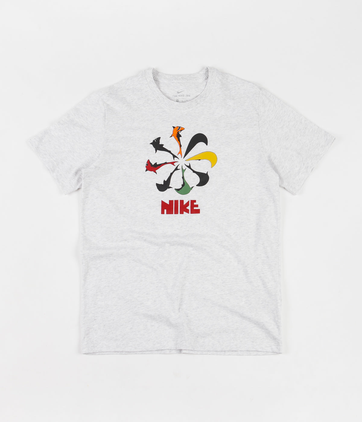Nike SB Orange Label 'Oski' T-Shirt - Birch Heather
