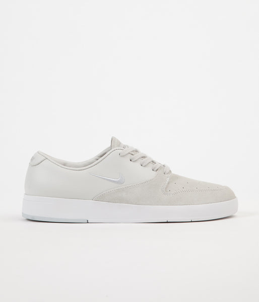 Nike SB P-Rod X Shoes - White / Pure Platinum / Black