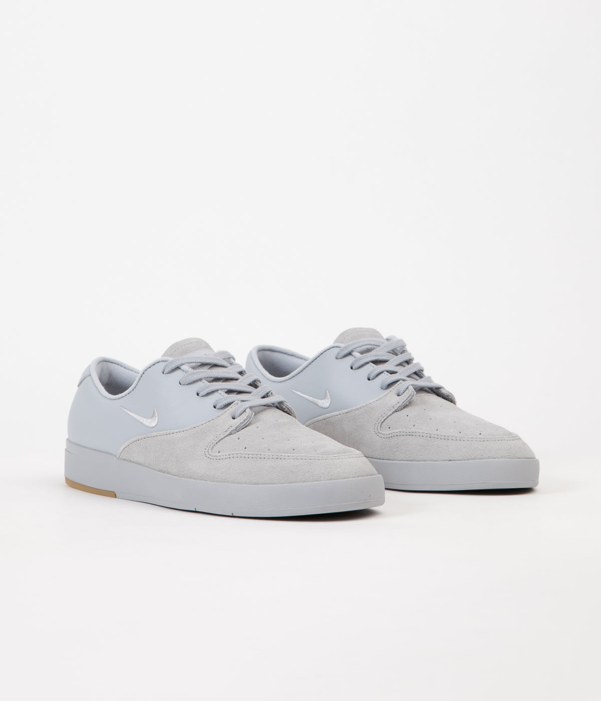 Nike SB P-Rod X Shoes - Wolf Grey / Wolf Grey - Cool Grey
