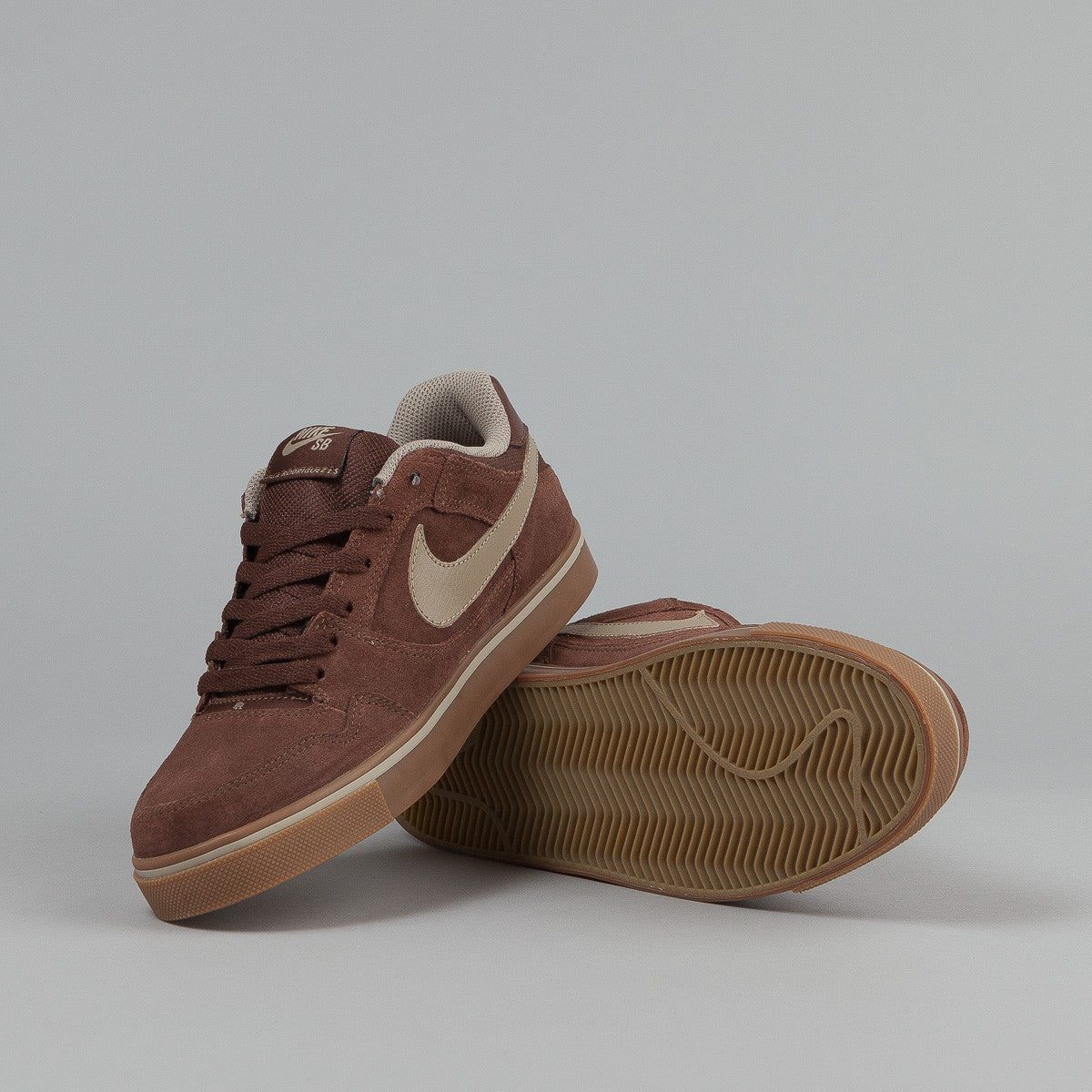 Nike SB Paul Rodriguez 2.5 Shoes - Light Chocolate / Khaki