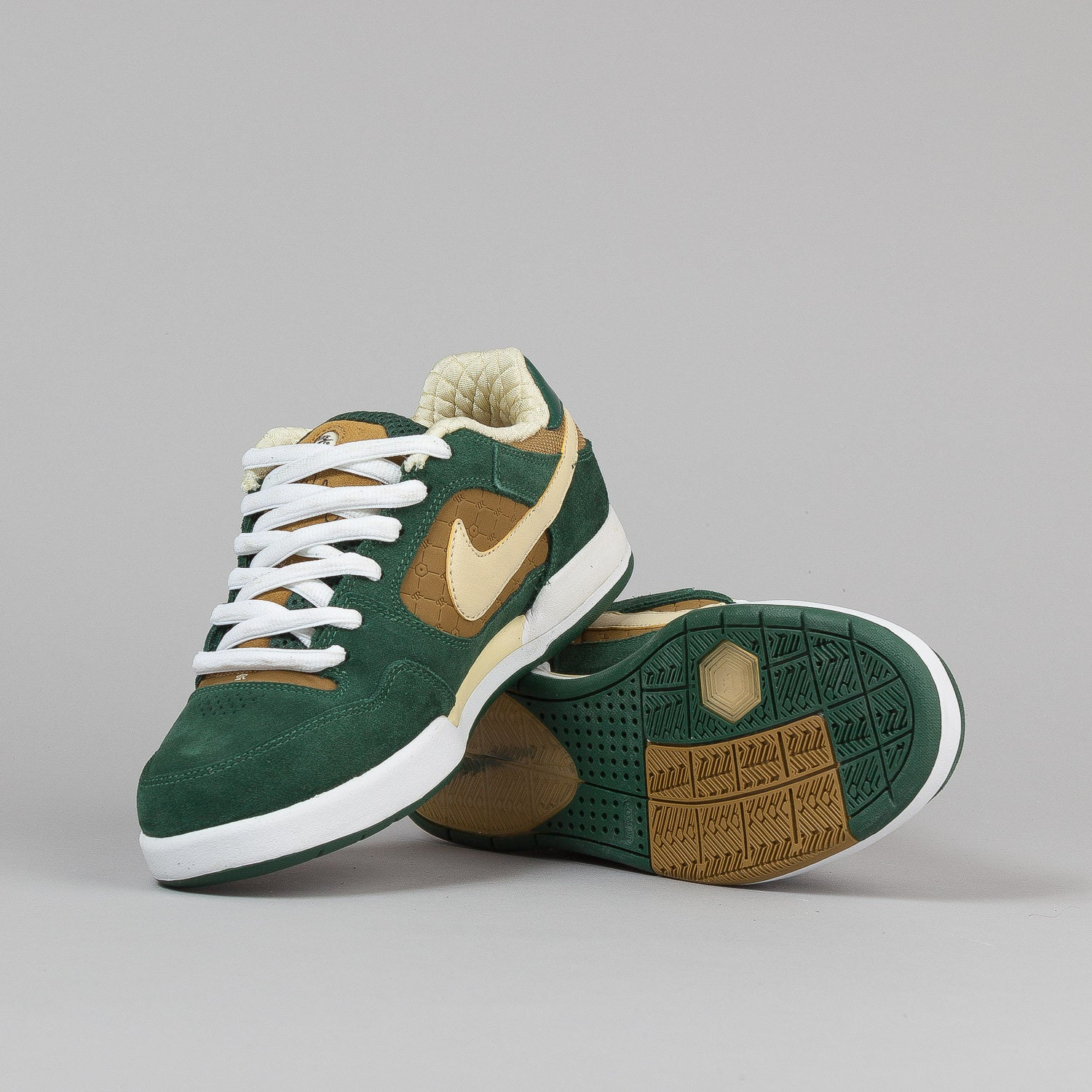 Nike SB Paul Rodriguez 2 Shoes - Black Forest / Lemon Drop