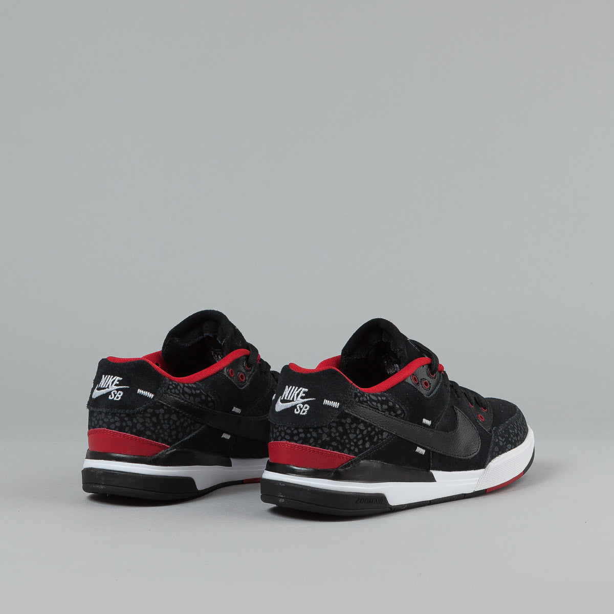 Nike SB Paul Rodriguez 3 Shoes - Black / Black