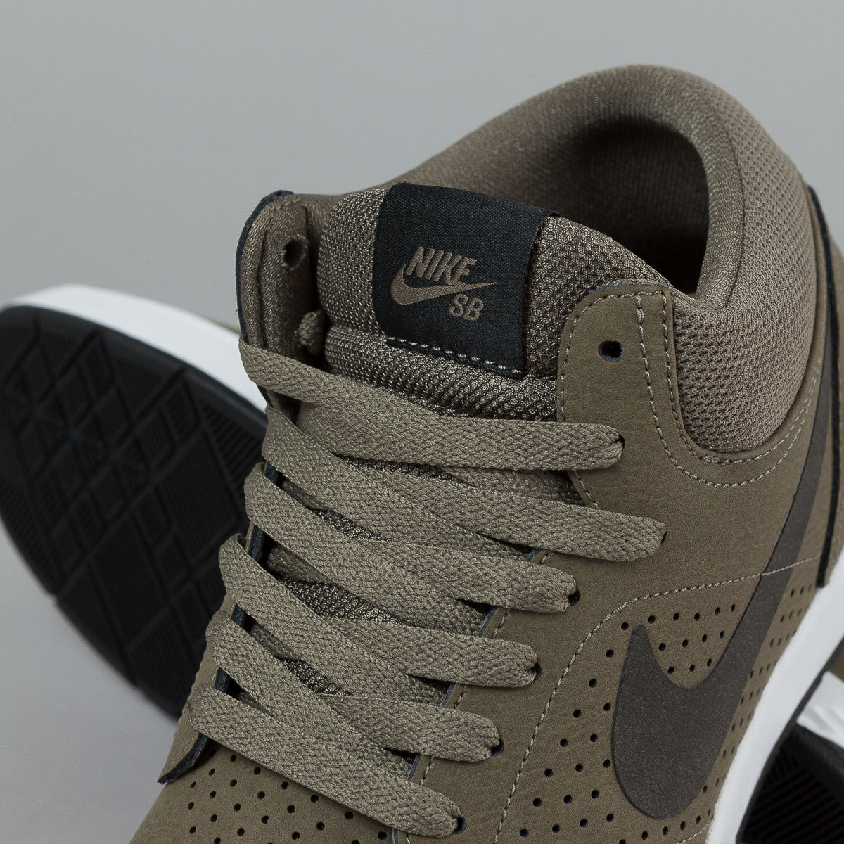 Nike SB Paul Rodriguez 5 MID Shoes - FLT Bronzed Olive / Black - White