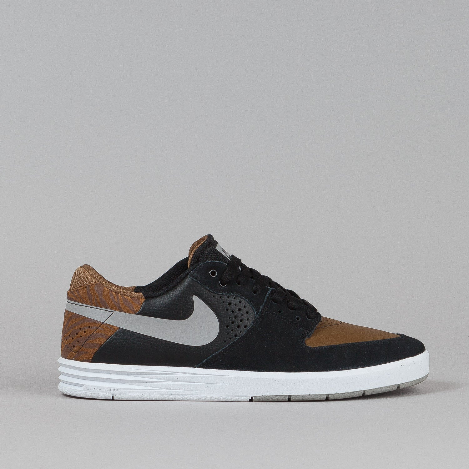 Nike Sb Paul Rodriguez 7 Low Black / Medium Grey / Military Brown