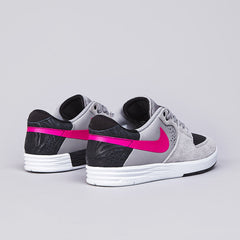 Nike Sb Paul Rodriguez 7 Low Medium Grey / Pink Foil - Black