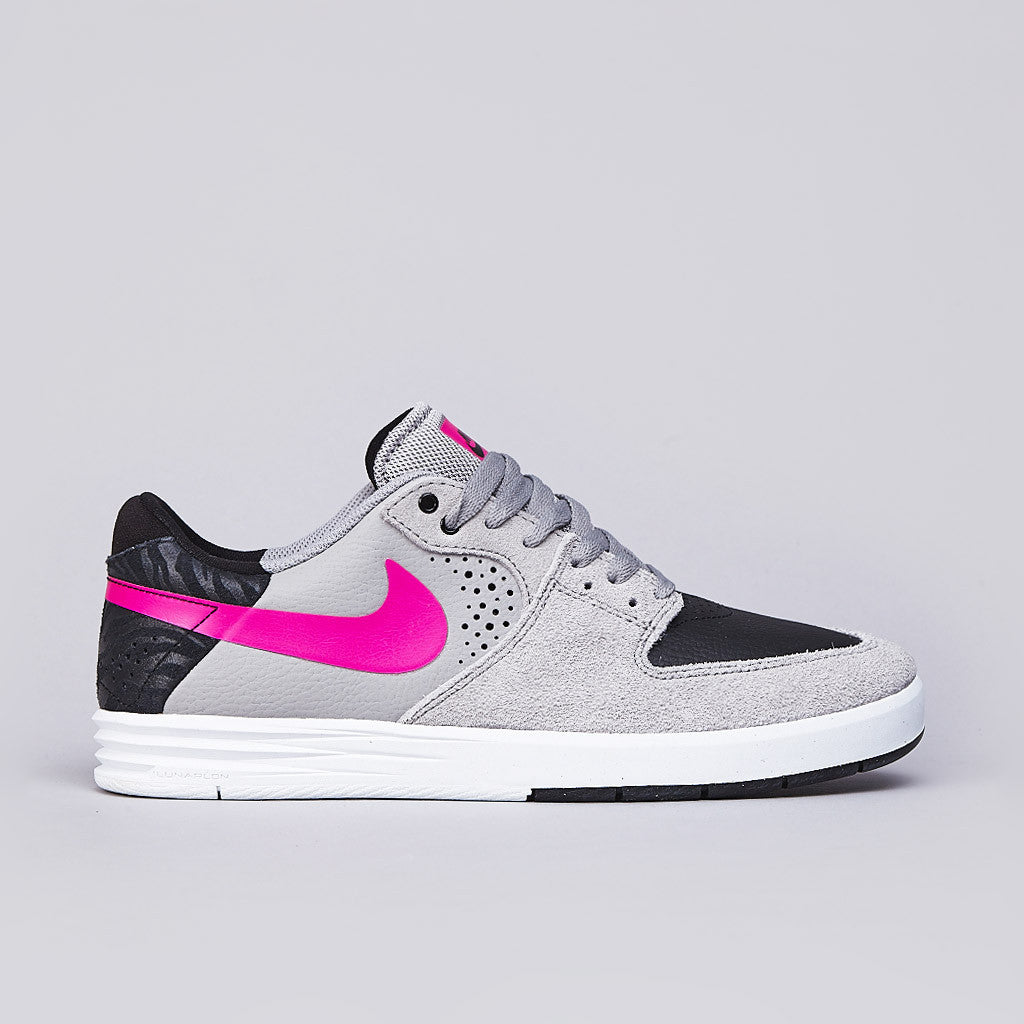 Nike Sb Paul Rodriguez 7 Low Medium Grey / Pink Foil